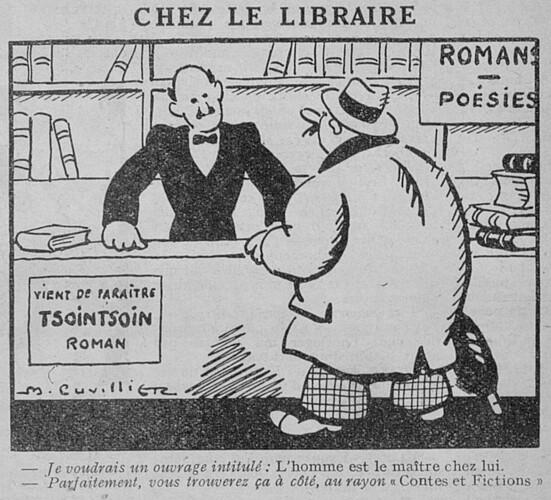 Le Pêle-Mêle 1930 - n°312 - Chez le libraire - 9 février 1930 - page 10