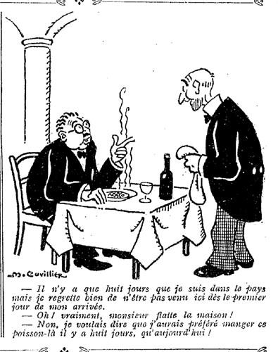 Le Pêle-Mêle 1927 - n°174 - page 7 - Il n'y a que huit jours que je suis dans le pays (G) - 19 juin 1927