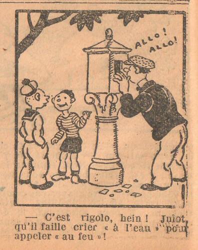 Le Petit Illustré 1929 - n°1293 - page 14 - C'est rigolo - 21 juillet 1929