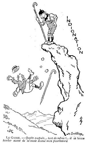 Le Pêle-Mêle 1925 - n°57 - page 9 - Indignation (G) - 22 mars 1925