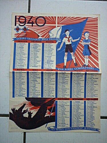 Calendrier 1940 CV-AV (1)