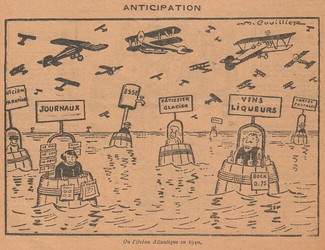 Le Pêle-Mêle 1927 - n°189 - page 8 - Anticipation - 2 octobre 1927