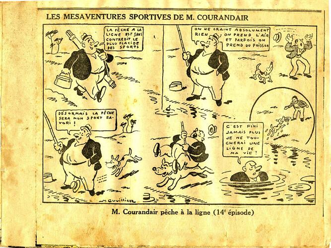 Les mésaventures sportives de M. COURANDAIR (14e épisode)