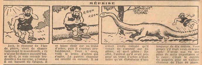 Le Petit Illustré 1929 - n°1274 - page 4 - Méprise - 10 mars 1929