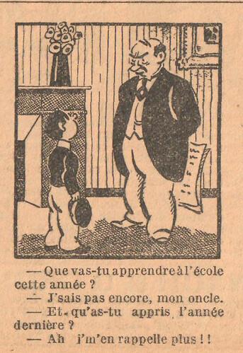 Le Petit Illustré 1929 - n°1308 - page 14 - Que vas-tu apprendre à l'école - 3 novembre 1929