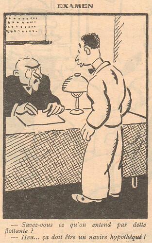 Le Pêle-Mêle 1929 - n°287 - Examen - 18 août 1929 - page 5