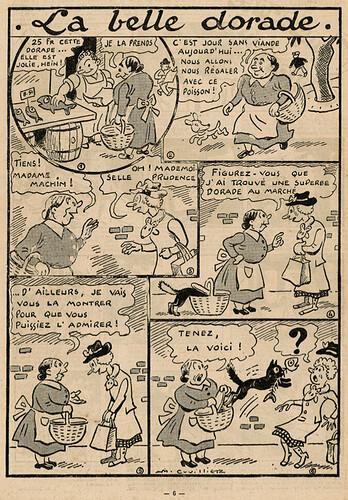 Fillette 1941 - n°1713 - page 6 - La belle dorade - 18 mai 1941