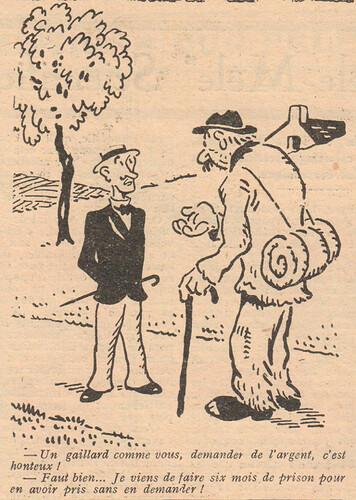 Le Pêle-Mêle 1929 - n°275 - Un gaillard comme vous - 26 mai 1929 - page 5