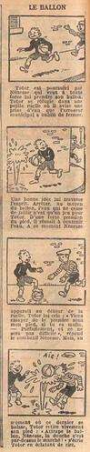 Le Petit Illustré 1929 - n°1272 - page 2 - Le ballon - 24 février 1929