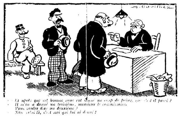 Le Pêle-Mêle 1929 - n°263 - Et après que cet homme vous eut donné un coup de poing - 3 mars 1929 - page 8