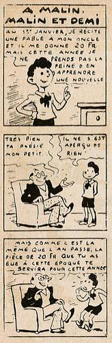 pat épate 1949 - n°18 - A malin malin et demi - 1er mai 1949 - Page 14
