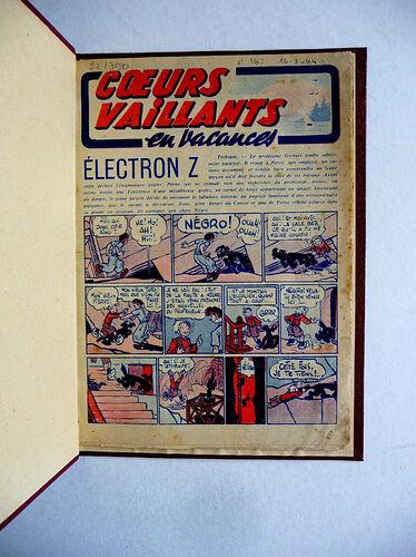 Reliure Coeurs Vaillants 1944 vendu en octobre 2020 (3)