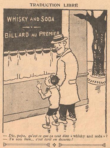 Le Pêle-Mêle 1926 - n°148 - page 7 - Traduction libre - 19 décembre 1926