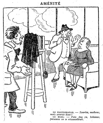 Le Pêle-Mêle 1927 - n°169 - page 9 - Aménité (G) - 15 mai 1927