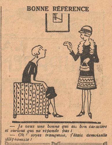 Le Pêle-Mêle 1926 - n°132 - page 11 - Bonne référence - 29 août 1926