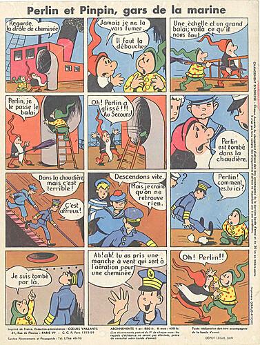 perlin et pinpin 1956 - n°8 - 9 décembre 1956 - page 8