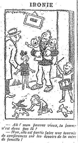 Le Pêle-Mêle 1927 - n°180 - page 6 - Ironie (G) - 31 juillet 1927