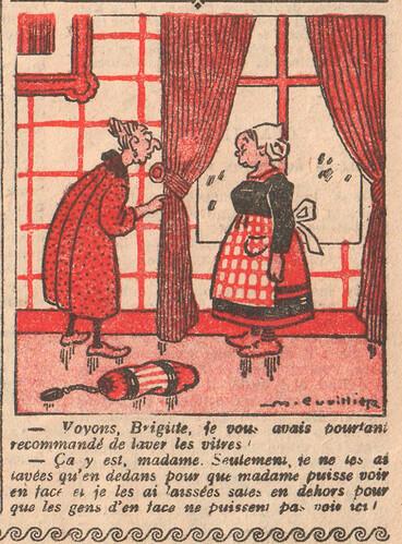 Le Pêle-Mêle 1926 - n°104 - page 11 - Voyons Brigitte - 14 février 1926