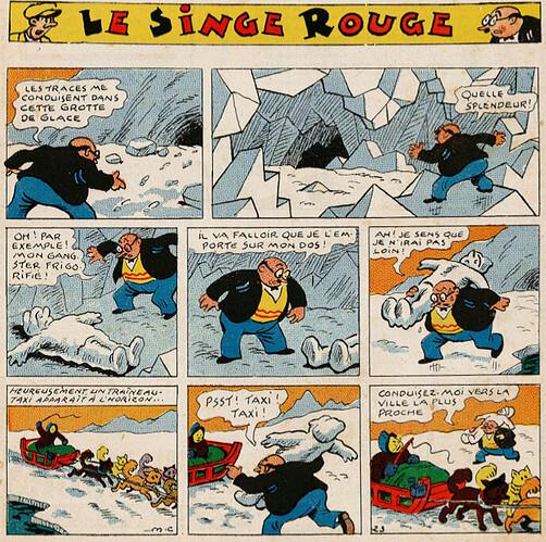 Pat épate 1949 - n°37 - Le Singe Rouge - 11 septembre 1949 - page 1