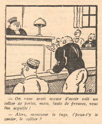 Le Pêle-Mêle 1929 - n°271 - On vous avais accusé - 28 avril 1929 - page 8