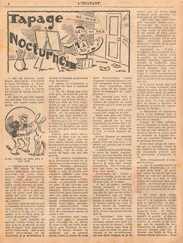 L'Epatant 1936 - n°1481  - Tapage nocturne - 17 décembre 1936 - page 4