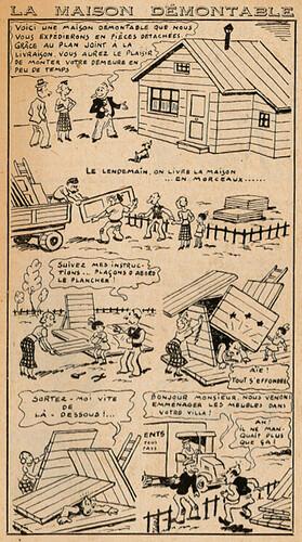 Almanach Lisette 1939 - La maison démontable - page 113