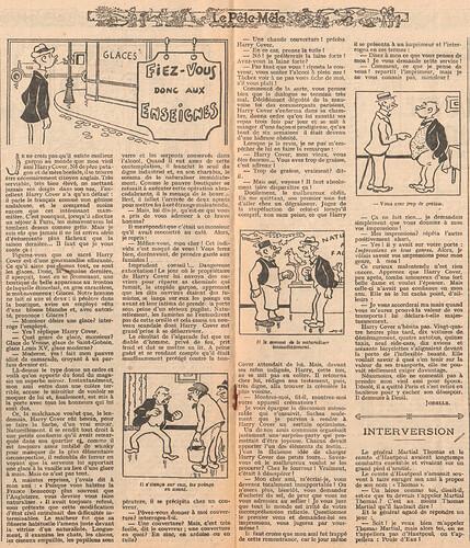 Le Pêle-Mêle 1926 - n°120 - pages 10 et 11 - Fiez-vous donc aux enseignes - 6 juin 1926
