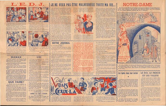 En Equipe - Coeurs Vaillants 1948 - n°5 - Mai 1948 - pages 2 et 3