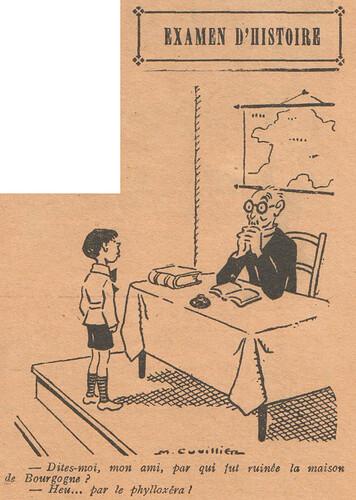 Le Pêle-Mêle 1928 - n°224 - page 7 - Examen d'histoire - 3 juin 1928