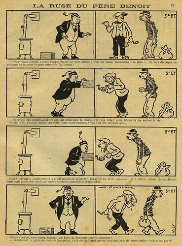 Guignol 1926 - n°68 - La ruse du Père Benoit - Mai 1926 - page 37