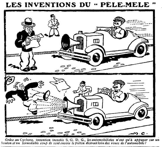 Le Pêle-Mêle 1929 - n°300 - Grâce au Cyclone - 17 novembre 1929 - page 13
