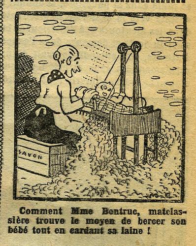 Fillette 1933 - n°1297 - page 7 - Dessin sans titre - 29 janvier 1933