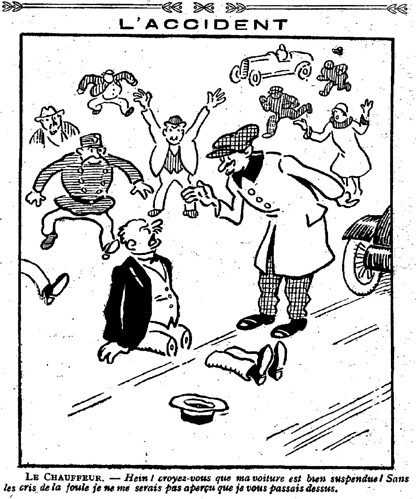 Le Pêle-Mêle 1926 - n°121 - page 6 - L'accident (G) - 13 juin 1926