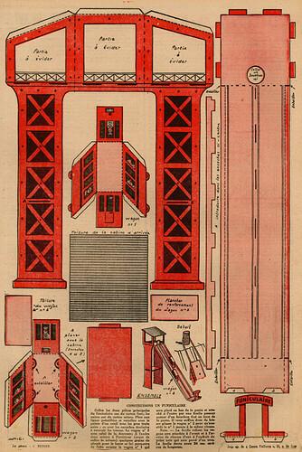 Coeurs Vaillants 1939 - n°39 - Construisons une auto-pompe - 24 septembre 1939 - page 8