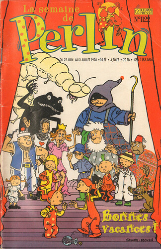 Semaine de Perlin - n°1122 - du 27 juin au 3 juillet 1998 - couverture