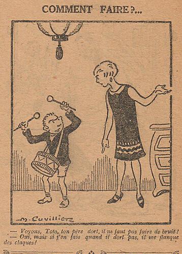 Le Pêle-Mêle 1927 - n°167 - page 8 - Comment faire - 1er mai 1927