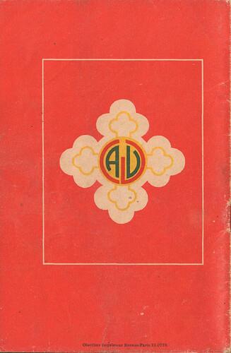 Almanach CV-AV 1946 - REBATIR - dos