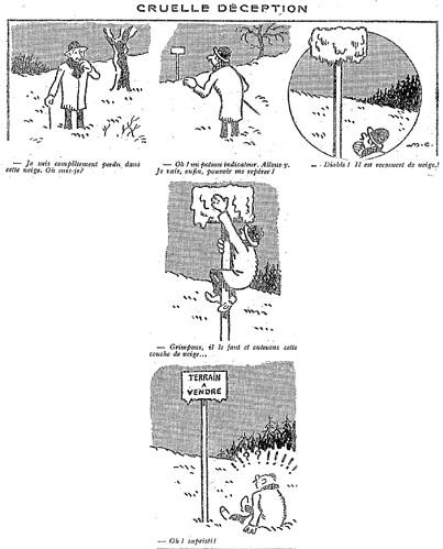 Le Pêle-Mêle 1927 - n°156 - page 18 - Cruelle déception (G) - 13 février 1927