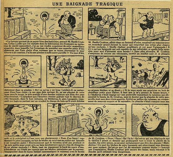 L'Epatant 1932 - n°1249 - page 10 - Une baignade tragique - 7 juillet 1932