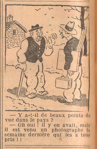 Le Petit Illustré 1929 - n°1301 - page 2 - Y-a-t-il de beaux points de vue - 15 septembre 1929