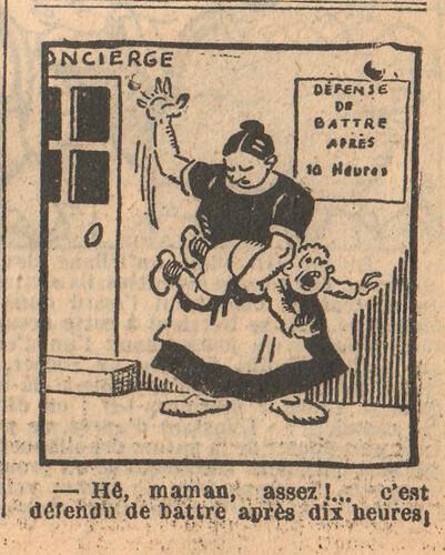 Le Petit Illustré 1929 - n°1276 - page 7 - Maman assez - 24 mars 1929