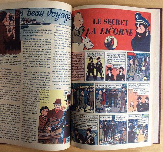 Reliure Coeurs Vaillants 1944 vendu en août 2018 (10)