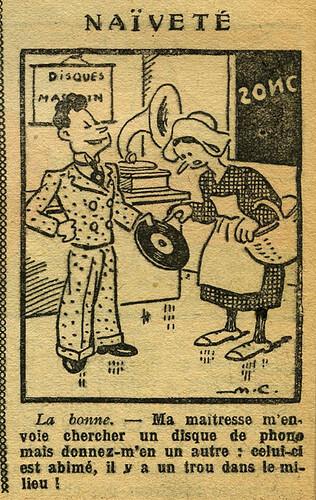 Fillette 1933 - n°1305 - page 7 - Naïveté - 26 mars 1933