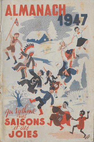 Almanach 1947 - Au rythme des saisons et des joies - couverture