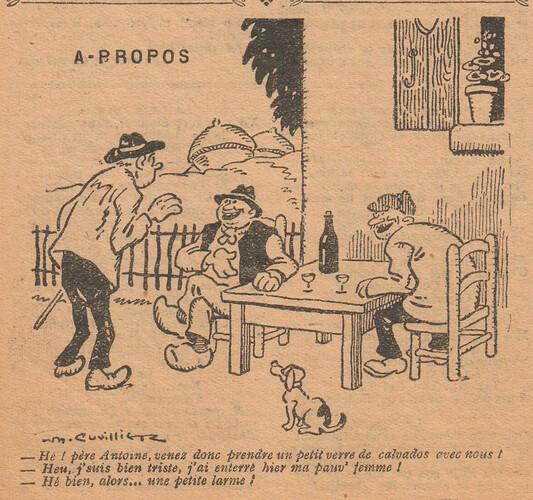Le Pêle-Mêle 1927 - n°164 - page 6 - A-propos - 10 avril 1927