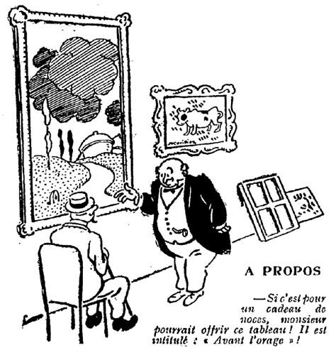 Le Pêle-Mêle 1925 - n°92 - page 3 - A propos (G) - 22 novembre 1925