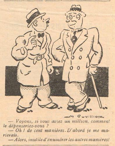 Le Pêle-Mêle 1929 - n°273 - Voyons si vous aviez un million - 12 mai 1929 - page 11