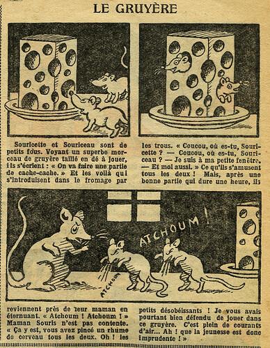 Fillette 1933 - n°1298 - page 7 - Le gruyère - 5 février 1933