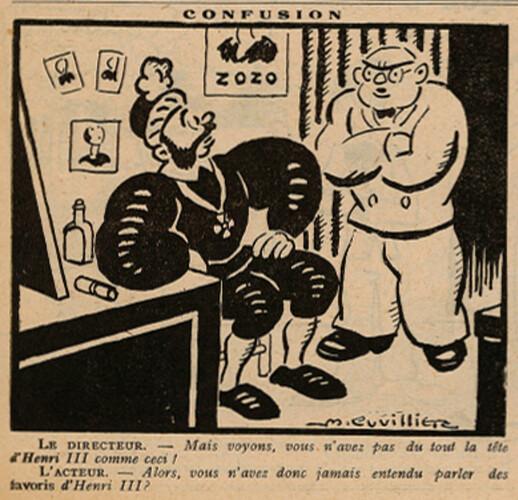 Le Pêle-Mêle 1929 - n°290 - Confusion - 8 septembre 1929 - page 7
