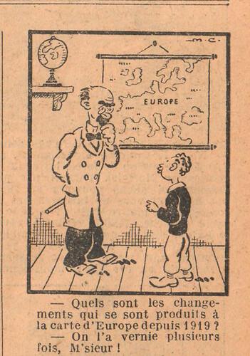 Le Petit Illustré 1929 - n°1287 - page 7 - Quels sont les changements - 9 juin 1929